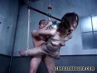 bondage, chinese tits, small tits