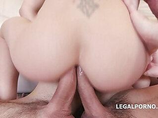 anal, DP, facial, penetration, skinny, slut