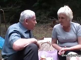 grandpa, mature, pissing, slut