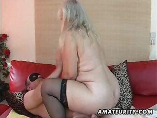 amateur, chubby, hubby, MILF, sucking, wife