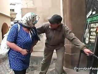 dude, grandpa, granny, nasty