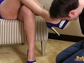 domination, dominatrix, feet, humiliation, mistress, pussy lick, slave