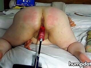 bbw, spanking