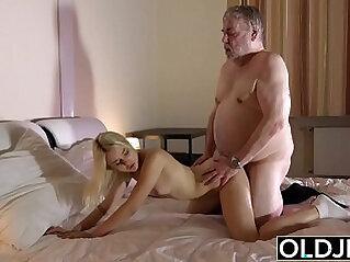 asian cock, brunette, cum, grandpa, old, skinny, sucking, swallow
