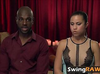 black, couple, lesbian, swingers, white