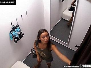 brunette, czech, hidden cam, lingerie, webcam