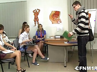 cfnm, nude, punishment, school, teacher, teen, teenager, webcam