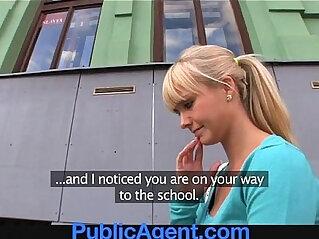 beautiful girl, blonde, interview, public, teen