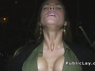 flashing - Dude pay babes for flashing and fucking