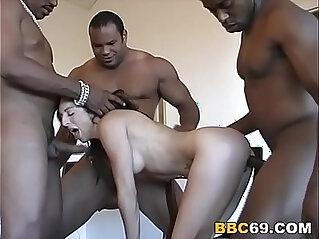 asian cock, black, DP, interracial, nasty, penetration, slut