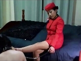 old - Asian Mistress Jane Stewardess Golden Shower