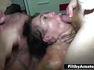 ass, oiled, orgy