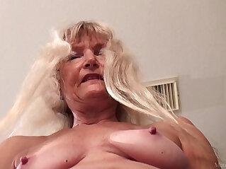 dildo, granny, HD ASIANS, masturbation, skinny