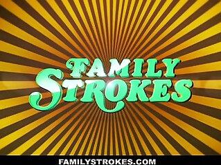 family orgy, MILF, mom, stepmom, sucking
