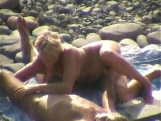 amateur, beach, oral, spy, voyeur, webcam