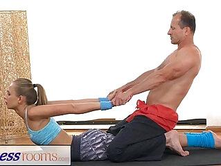 athletic, flexible, pussy, training