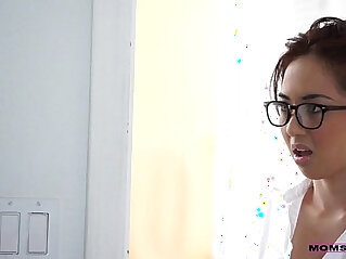 mom and son - MomsTeachSex Stepmom Seduced My Tutor
