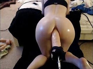 ass, babe, dildo, huge asses, webcam