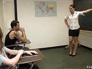 ass, classroom, handjob, punishment, stud, students