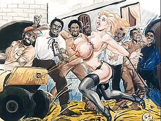 bdsm, bondage, cartoons, slave