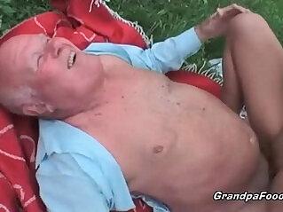 babe, grandpa, old, POV, pretty
