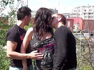 3some, pornstar, public