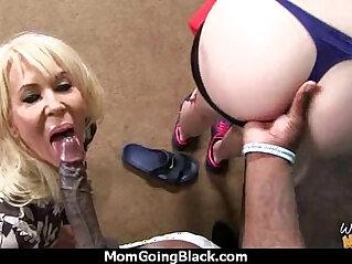 black, creampie, dude, facial, mom, pounding, pussy